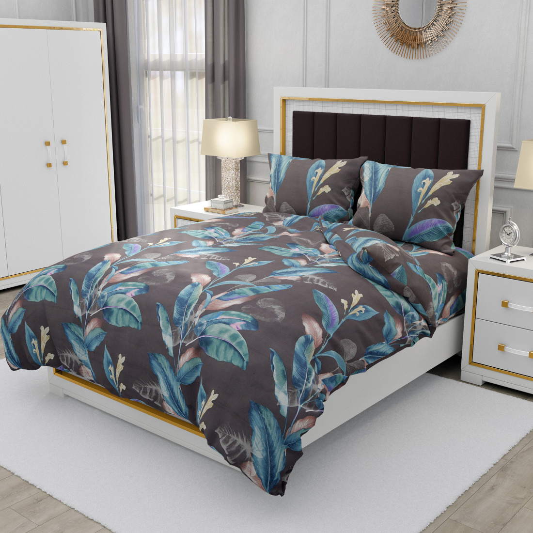 Tripple Tree Superior Single Bedsheet