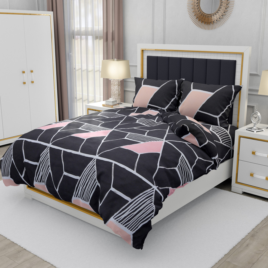 Tripple Tree Superior Double Bedsheet